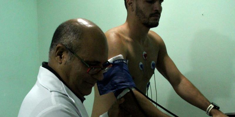 Os jogadores do Nova Iguaçu F. C. estiveram em nossa clínica antecipando seus exames médicos visando o campeonato Carioca-2018. Segue a notícia postada no site do NIFC: