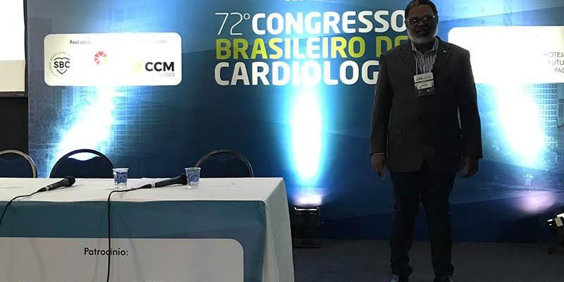 Congresso Brasileiro de Cardiologia realizado pela Sociedade Brasileira de Cardiologia