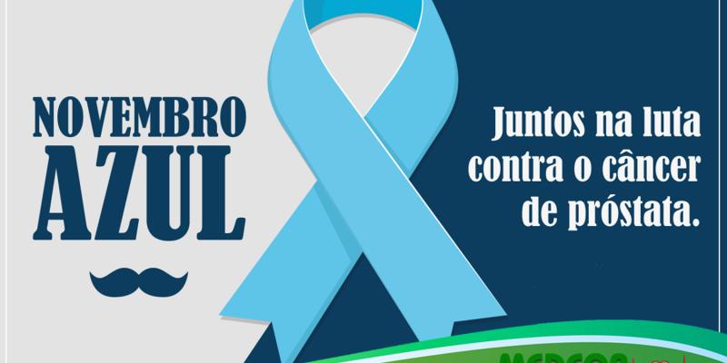 Novembro Azul 2018: Mês Mundial de Combate ao Câncer de Próstata, seja herói da sua saúde!