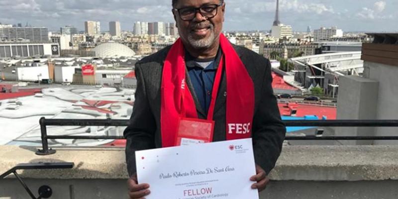 Dr Paulo Roberto Pereira de Sant´Ana, recebeu o título de 'Fellow' da Sociedade Europeia de Cardiologia