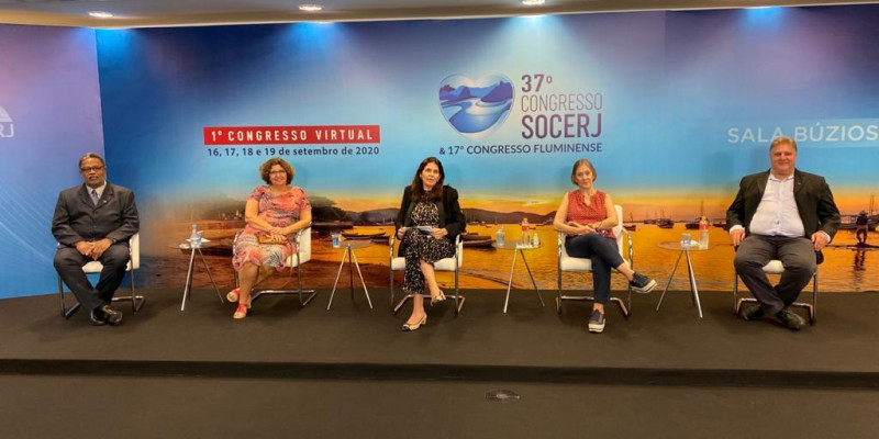 Atividade realizada no 37º Congresso da SOCERJ; 17º Congresso Fluminense e 1º Congresso Virtual