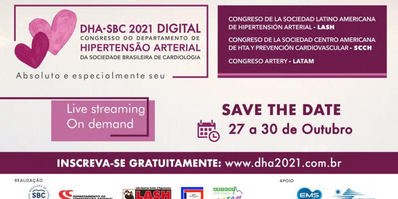 Sociedade Brasileira de Cardiologia realiza congresso gratuito sobre hipertensão arterial