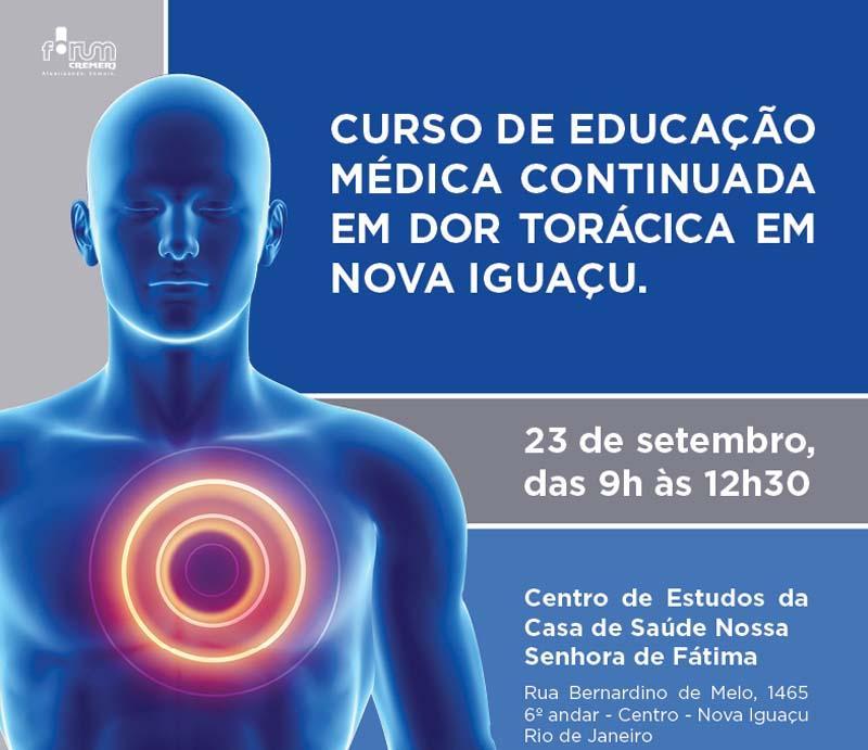 Educação Médica continuada em Dor Torácica em Nova Iguaçu