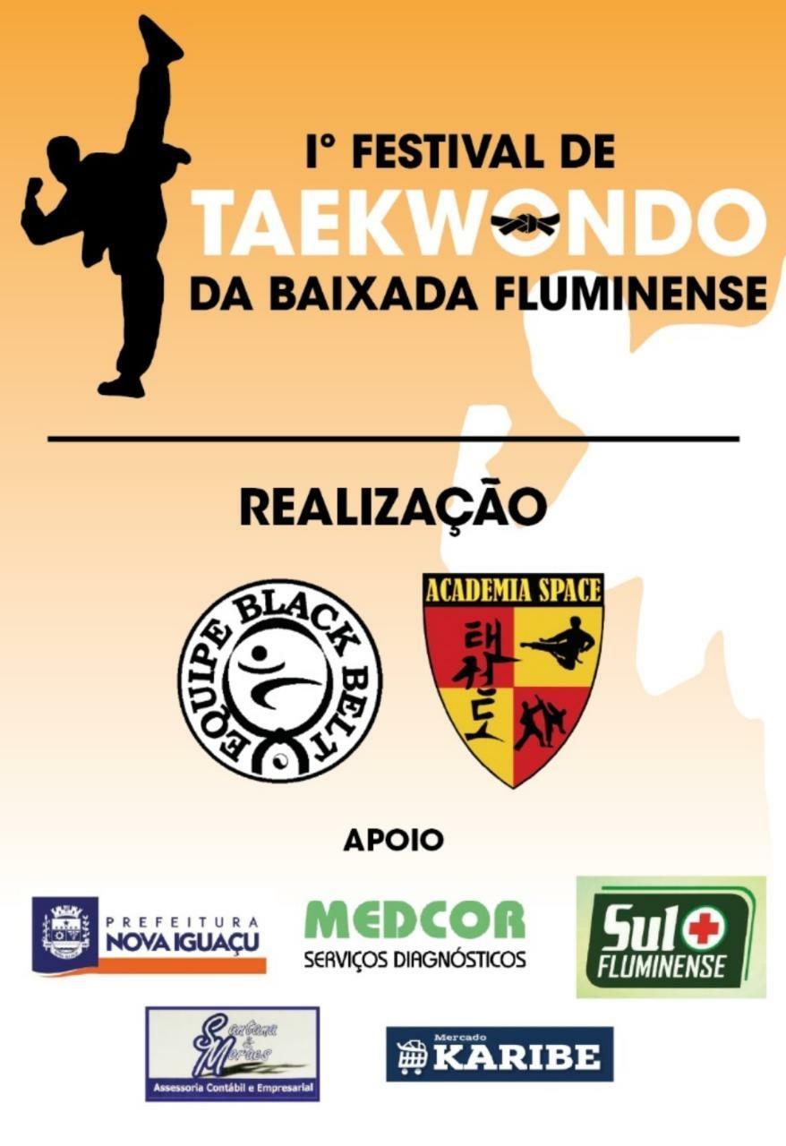 I FESTIVAL DE TAEKWONDO DA BAIXADA FLUMINENSE