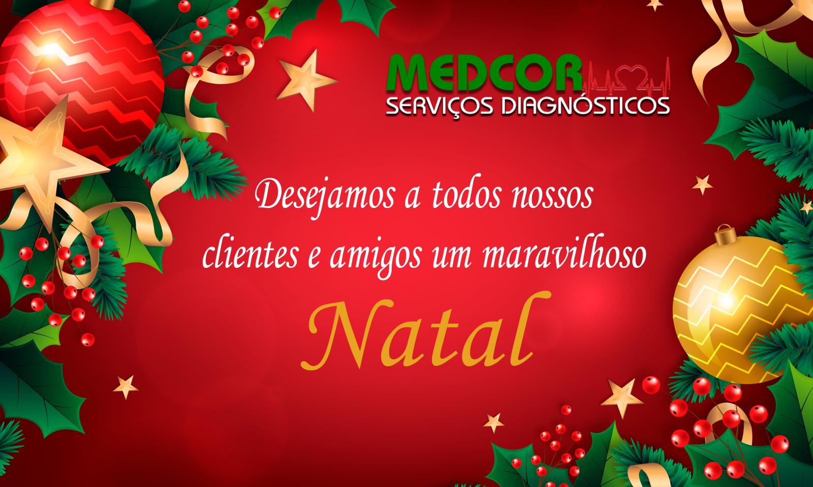 Desejamos a todos nossos clientes e amigos um maravilhoso Natal
