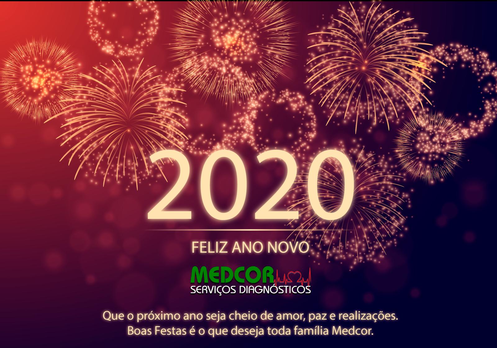 Que o próximo ano seja cheio de amor, paz e realizações. Boas Festas é o que deseja toda família Medcor.