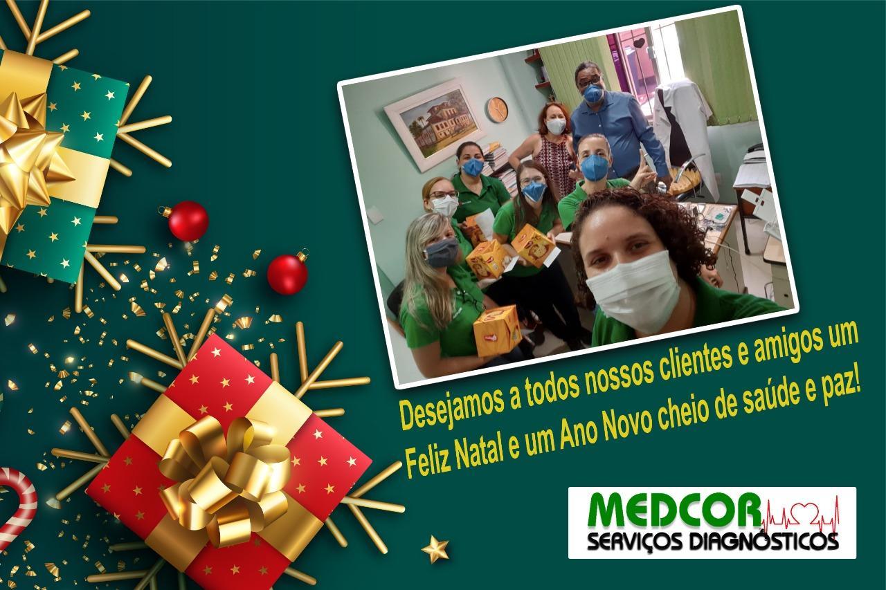 Medcor deseja a todos um Feliz Natal e Próspero Ano Novo