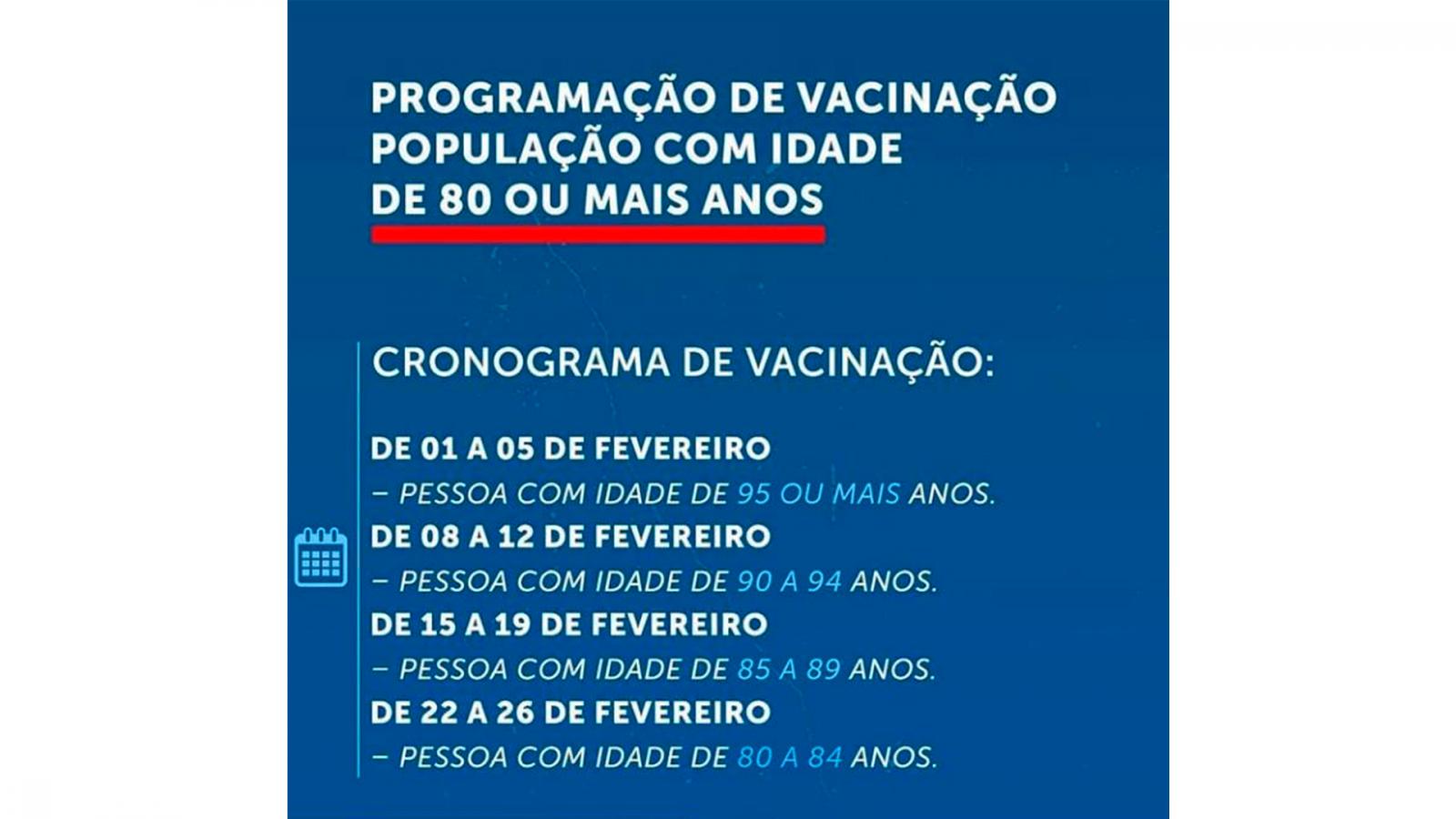 Início da vacinação dos Idosos em Nova Iguaçu